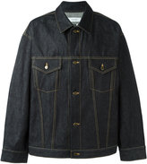Facetasm denim jacket - men - Cotton - 3
