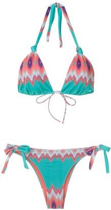 BRIGITTE Marina e Juliana printed bikini set