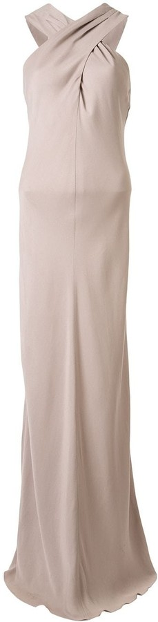 Ginger & Smart Polish knot detail gown