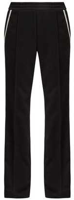 Moncler Side-striped Jersey Track Pants - Black