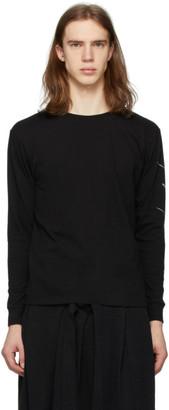 Yohji Yamamoto Black New Era Edition Long Sleeve T-Shirt