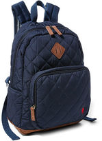 Ralph Lauren Diamond-Quilted Backpack