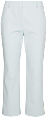 Sies Marjan Cropped trousers with contrasting stripe