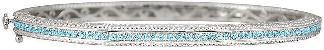 Alor Delatori by Delatori By Silver Blue Topaz Bracelet