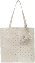 Accessorize Alesha Gold Star Leather Shopper Bag