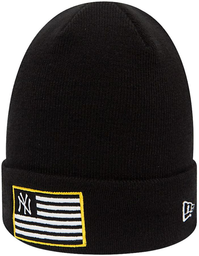 New Era Mlb Flag Knit Hat