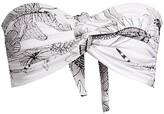 Thumbnail for your product : Norma Kamali Strapless Johnny Bikini Top