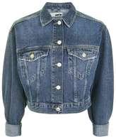Topshop Moto denim crop jacket