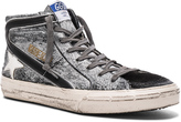 Golden Goose Deluxe Brand Coated Suede Slide Sneakers