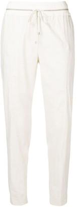 Lorena Antoniazzi White Jogging Pants