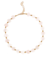 Frasier Sterling Dazed & Confused Choker in Rose Quartz
