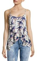 Free People Printed Layered Tank Top