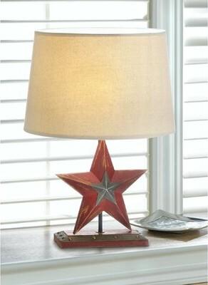 "August Grove Duvall Star 18"" Lamp"