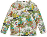 Gucci Children's Savannah print sweatshirt