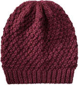 Joe Fresh Women's Sparkle Winter Hat, Burgundy (Size O/S)