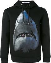 Givenchy shark print hoodie