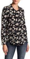 The Kooples Flowers Dotted Line Blouse
