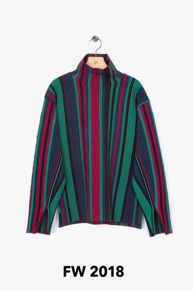 3.1 Phillip Lim Exclusive: Jacquard-Stripe Pullover