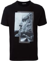 Neil Barrett statue print T-shirt - men - Cotton - XS
