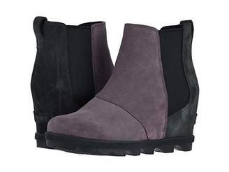 Sorel Joan of Arctictm Wedge II Chelsea (Camel Brown 2) Women's Lace-up Boots