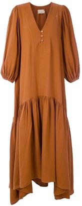 Le Soleil D'ete cotton Almira maxi dress