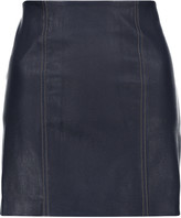 Alexander Wang Stretch-leather mini skirt