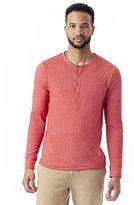 Alternative Men's Eco Mock-Twist Henley Shirt
