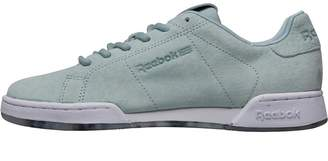 Reebok Classics Womens NPC II NE MET Trainers Seaside Grey/White/Pewter