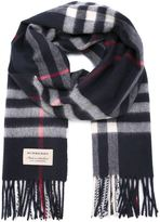 Burberry checked scarf - men - Cotton/Cashmere - One Size