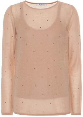 Max Mara Strillo embellished sweater