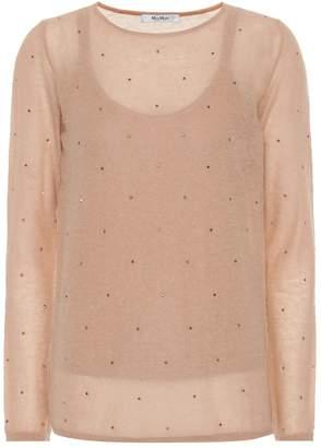 Max Mara Strillo embellished sweater