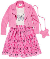 Knitworks Knit Works Jacket Dress Preschool Girls