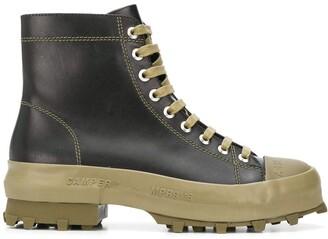 CamperLab Traktori two-tone ankle boots
