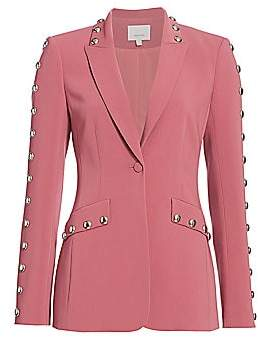 Cinq à Sept Women's Dive Studded Blazer