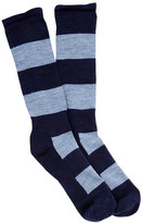 Smartwool Double Insignia Medium Crew Socks - Large