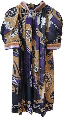 Leonard Multicolour Silk Dresses