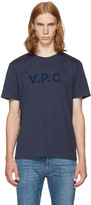 A.P.C. Navy v.p.c T-shirt