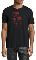 John Varvatos Skulls Graphic T-Shirt, Black