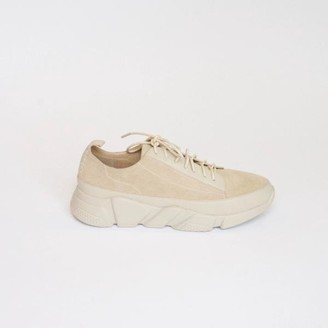 Collection & Co - Gia Two Tone Taupe Sneaker - 35