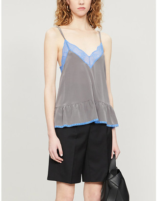 Zadig & Voltaire Celest silk-crepe camisole