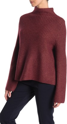 360 Cashmere Miranda Mock Neck Wool & Cashmere Sweater