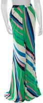 Issa Striped Maxi Skirt w/ Tags