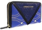 Versace EE3VOBPK2 EMAF Blue/Black Multifunction Wallet