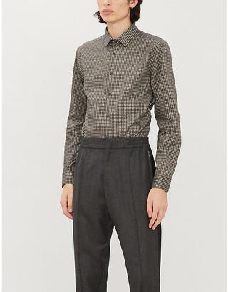 Corneliani Paisley-print cotton shirt