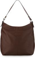 Gianfranco Ferre GF Smooth Leather Hobo Bag, Brown
