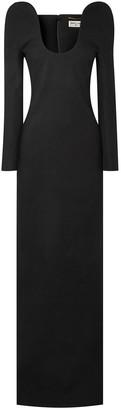 Saint Laurent Wool Gown