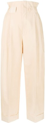 Fendi Cinched High Waisted Trousers