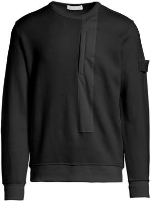 Stone Island Ghost Wool Blend Crew Pullover