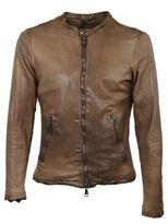 Giorgio Brato Brown Zipped Jacket