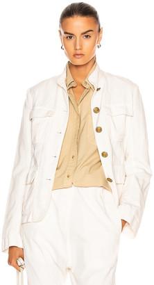 Nili Lotan Cambre Jacket in White Sand   FWRD